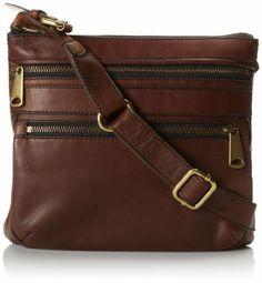 Amazon.com: Fossil Explorer Cross Body Bag,Espresso