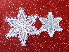 FSL Snowflakes Set - 2 Sizes! | FSL - Freestanding Lace | Machine Embroidery Designs | SWAKembroidery.com Oma's Place