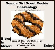 Girls Scout Cookies: Samoas Recipe for Girl Scout Samoa cookies.Recipe for Girl Scout Samoa cookies. Sin Gluten, Gluten Free, Girl Scout Samoas, Cookie Recipes, Dessert Recipes, Cookie Flavors, Dessert Ideas, Gourmet Desserts, Gastronomia