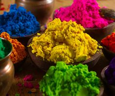 What better way to welcome spring than throwing colored powder? Learn more about the Holi festival - create a splash of color with our Holi powder recipe!