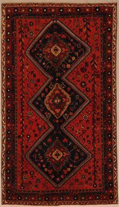 Bakhtyari Rug 5′ x 8'5″ 1