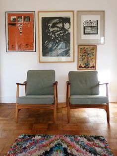 """Sneak Peek: Victoria Suffield and Phil Webb. """"These chairs were a very lucky eBay find."""" #sneakpeek"""