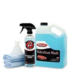 Adam's Waterless Car Wash Collection