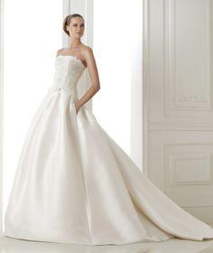 vestido de noiva princesa pronovias coleção 2015 costura BARONDA #casarcomgosto