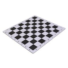 "Amazon.com: Wholesale Chess 20"" Tournament Mousepad Style Roll-Up Chess Board - Black: Toys & Games"