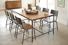 Atelier 7 Piece Dining Suite by John Young Furniture | Harvey Norman New Zealand