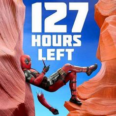 127 hours left..yes! #deadpool $?#marvel #allthingsdcmarvel...