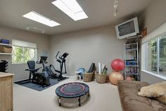 Bedroom/Home gym