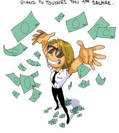 Le Blog'o'Gron: Premier salaire