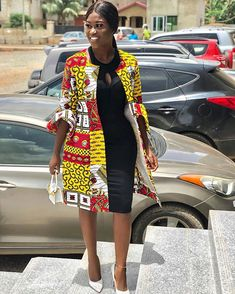 african fashion ankara Gorgeous African Print Kimono Jacket The second fabric is currently not available. You can choose any fabric you want. You can also request customization, African Maxi Dresses, African Fashion Ankara, Latest African Fashion Dresses, African Dresses For Women, African Print Fashion, African Attire, Shweshwe Dresses, African Style, African Fashion Traditional