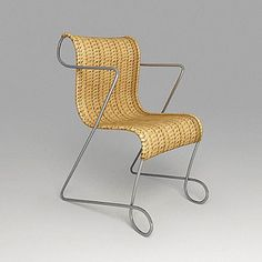 Sedia Zigo design Ron Arad per Driade #driade #ronarad