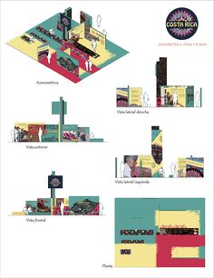 Diseño Stand para festival latinoamericano - Diseño Gráfico 2 - Mazzeo