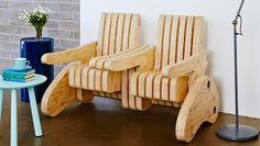 Ah! E se falando em madeira...: Cadeira Multifuncional