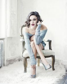 Kiera Knightly -- Boudoir - Glam - Editorial - Portrait - Lingerie - Photography - Pose