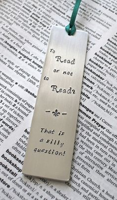 To Read or Not to Read!