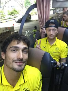 Mats Hummels and Marco Reus are from Japan to Singapore.
