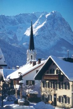 Winter around Garmisch-Partenkirchen