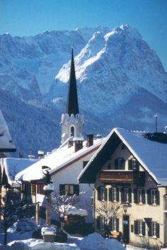 Winter around Garmisch-Partenkirchen. Repinned by www.mygrowingtraditions.com