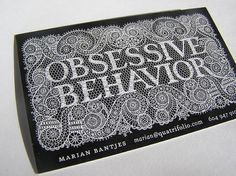 creative business cards/tips for designers and bloggers