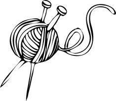 premium knitting clipart vectors knitting clip art knitting rh pinterest com Knitting Clip Art Transparent Background Knitting Clip Art Border