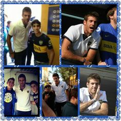 Delpo this year at the Superclasico in Buenos Aires:-)