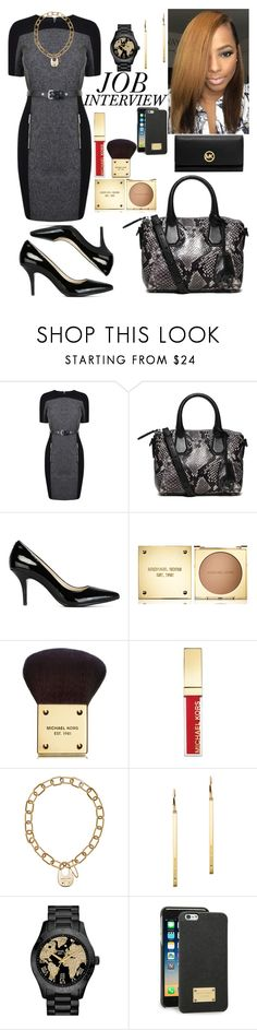 """Job Interview With Michael Kors"" by micheal-madison ❤ liked on Polyvore featuring MICHAEL Michael Kors and Michael Kors"