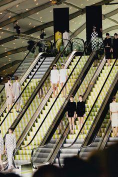 Now on the hunt for long sleeve white mini dress (LV SS'13)