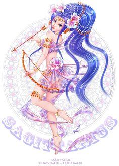 Sagittarius by Estheryu.deviantart.com on @deviantART