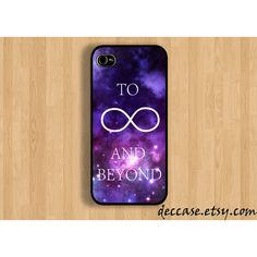 IPHONE 5 CASE Space To infinity and beyound toy story quote iPhone 4... ($16) ❤ liked on Polyvore featuring accessories, tech accessories, phone cases, phone, iphone cases, iphone, iphone cover case, iphone rubber cases, iphone sleeve case and galaxy iphone case