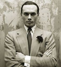 A young Yul Brynner: