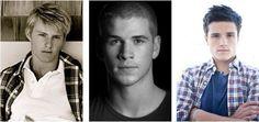 Alexander Ludwig, Liam Hensworth, Josh Hutcherson (: