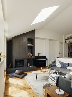 A lovely fireplace...In Brooklyn Heights, a Petite Flat Transformed: Remodelista