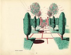 Reminds me of the gardens at Greystone Mansion in LA...