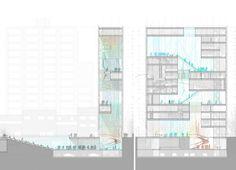 Daegu Gosan Public Library Competition Entry / STL Architects
