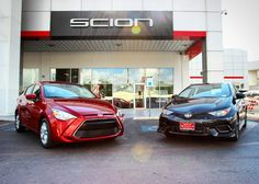The Scion iA and iM are finally here! Red Mccombs, Scion, Toyota, Vehicles, Car, Autos, Automobile, Cars, Vehicle