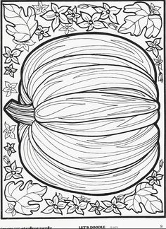 Remember these? More Let's Doodle holiday pages can be seen here! #pumpkin - these would be fun to have everyone color and laminate for placemats!