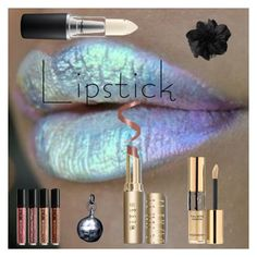 """""""Untitled #1745"""" by moestesoh ❤ liked on Polyvore featuring beauty, Yves Saint Laurent and MAC Cosmetics"""