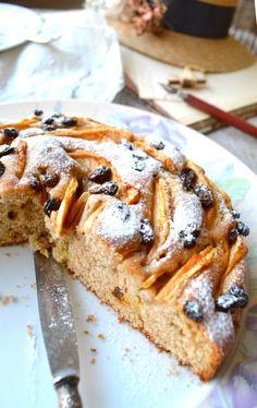 torta di mele e uvetta ricetta