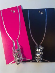 Wine charms and cards