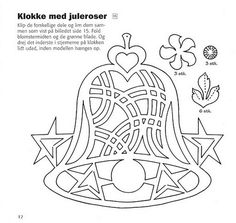 Gallery.ru / Фото #6 - Claus Johansen - Nye Juleklip i karton - tymannost Diy Paper, Paper Art, Kirigami Templates, Templates Free, Paper Cutting Patterns, Christmas Window Decorations, Holiday Ornaments, Christmas Ornament, Silhouette Clip Art