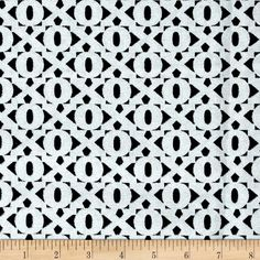Designed by Maria Kalinowski for Kanvas in association with Benartex, this cotton print is perfect for quilting, apparel and home decor accents.  Colors include black, white and silver glitter.