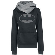 Batman  Hooded sweater  »Logo« | Buy now at EMP | More Fan merch  Hooded sweaters  available online ✓ Unbeatable prices!