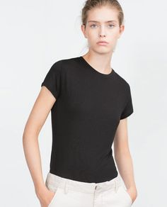 ZARA - WOMAN - BASIC T-SHIRT Ref. 5584/306 $9.90