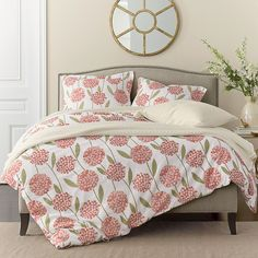 Charlotte Flannel Duvet Cover | The Company Store