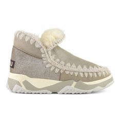 shop now Eskimo Trainer. New this season, the super chic and sporty eskimo trainer is artisanally handcrafted in pure double-face sheepsk… Silver Boots, Shades Of Black, World Of Fashion, Luxury Branding, Trainers, Shop Now, Sporty, Beige, Pure Products