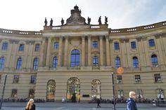 Humboldt University, Berlin where Albert Einstein once studied.