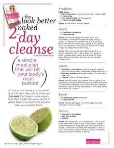 2 detox diet