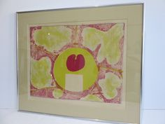 Signed A. Storich Mid-Century Modern Artist Proof Abstract Lithograph, Titled Garden. by FLORIDAMODERN on Etsy