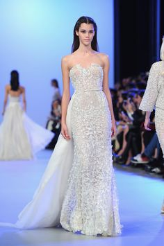 Elie Saab Latest Show-Stopping Wedding Gown—Plus, 4 More Wedding-Worthy Dresses From Today's Couture Show