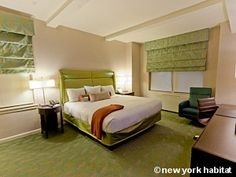 DISCOUNT ► Benefit from 20% off this furnished studio in Midtown, Manhattan! In addition to its practical location, enjoy the hotel services that come with this rental!